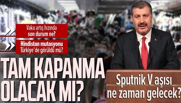 SON DAKİKA: Bilim Kurulu toplantısı sonrası Bakan Fahrettin Koca'dan flaş açıklamalar! SPUTNİK V müjdesi!