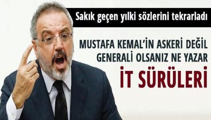 """Sırrı Sakık: """"Mustafa Kemal'in Askerleriyiz"""" diyen""""İT SÜRÜLERİ"""""""