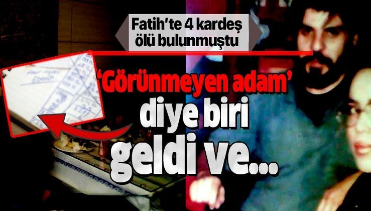 Son dakika: Fatih'te intihar eden 4 kardeşin borçları gizemli bir hayırsever tarafından ödendi!.