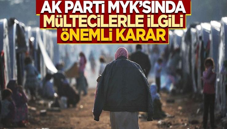 Türkiye'deki mültecilerle ilgili önemli karar!