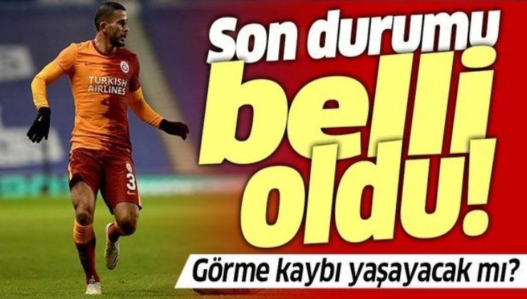 Omar Elabdellaoui'nin son durumu belli oldu! Galatasaray'ın yıldızı görme kaybı yaşayacak mı?