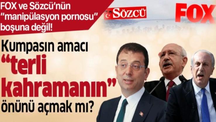 """CHP'deki kumpasın amacı """"terli kahramanın"""" önünü açmak mı?."""