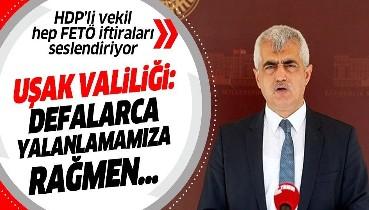 """Uşak Valiliği, HDP'li Ömer Faruk Gergerlioğlu'nun FETÖ'cülerin """"çıplak soyulduğu"""" iddiasını reddetti: Defalarca yalanlamamıza rağmen..."""