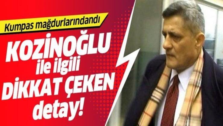 Cezaevinde kalp krizi geçirerek hayatını kaybetmişti! MİT'çi Kozinoğlu ile ilgili dikkat çeken detay!.