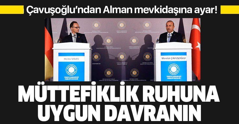 Son dakika: Bakan Çavuşoğlu'ndan önemli açıklamalar.