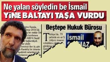 İsmail Saymaz Osman Kavala yalanını düzeltmek zorunda kaldı