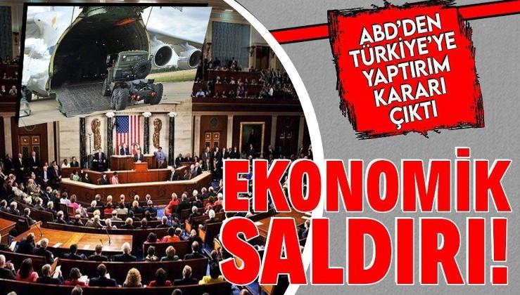 Son dakika: S-400..ABD'den Türkiye'ye yaptırım kararı! Savunma Sanayi Müsteşarlığı ve İsmail Demir'e...