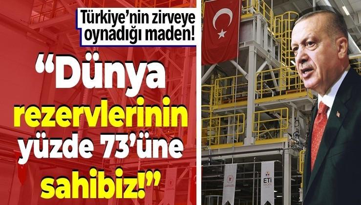 """Türkiye'nin ilk lityum üretim tesisi törenle açıldı! Erdoğan'dan son dakika """"bor madeni"""" açıklaması"""