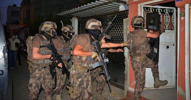 Adana'da terör örgütü HTŞ/HAD üyelerine operasyon