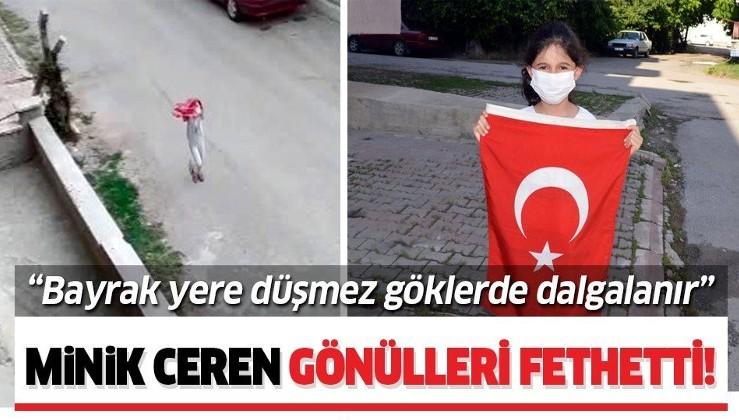 Ankara'da küçük Ceren Arık'tan örnek davranış!