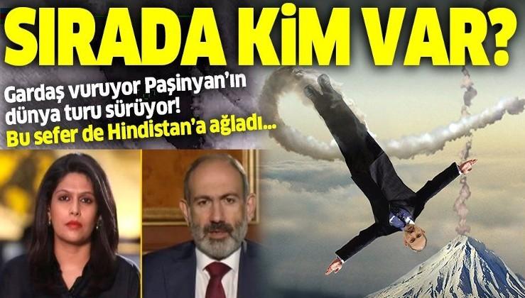 SON DAKİKA: Azerbaycan'dan ağır darbe alan Paşinyan Türkiye'yi bu kez de Hindistan'a şikayet etti