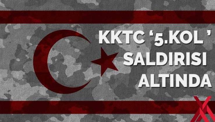 KKTC '5.kol' saldırısı altında