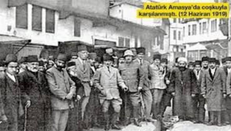 TARİHTE BUGÜN: Gazi Mustafa Kemal Atatürk 12 Haziran 1919'da Amasya'ya ulaştı!