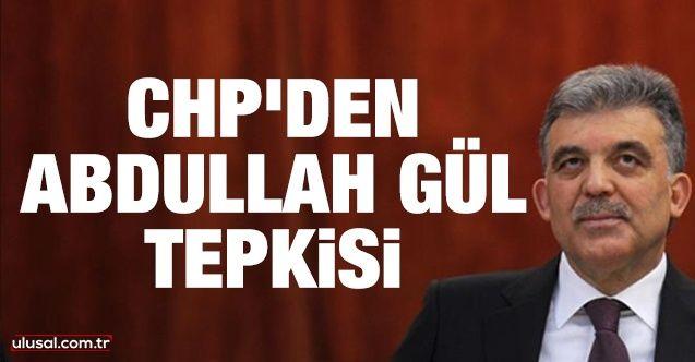 Abdullah Gül tepkisi: Sorulması gereken en can alıcı sorular...