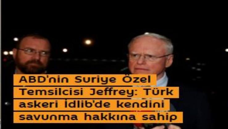 ABD Türkiye'ye Suriye ile savaşın diye gaz veriyor. PKK dostu Jeffrey, gereğini yapın dedi!