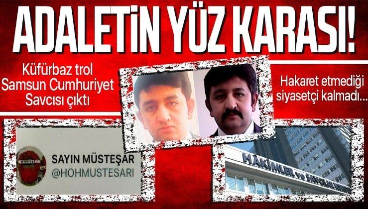 Adaletin yüz karası! Küfürbaz trol Samsun Cumhuriyet Savcısı Özcan Muhammed Gündüz çıktı