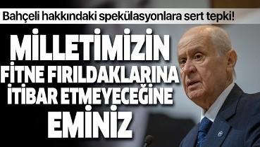 MHP Genel Başkan Yardımcısı Semih Yalçın'dan sosyal medyadaki 'Bahçeli' spekülasyonlarına tepki