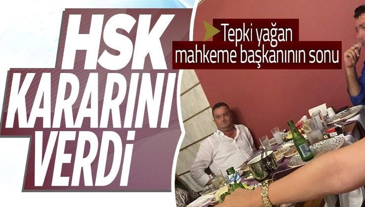Davasına baktığı iş insanıyla yemek yiyen Manavgat Ağır Ceza Mahkemesi Başkanı açığa alındı