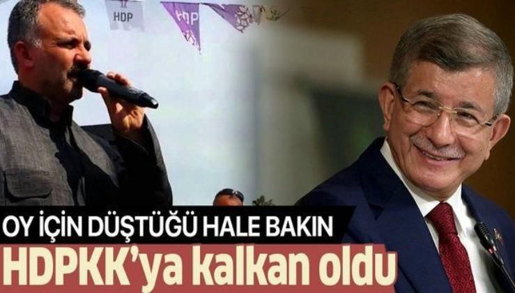 Biden'in maşaları: Ahmet Davutoğlu'ndan HDPKK'ya kayyum desteği: Terör sevici Ayhan Bilgen'e kalkan oldu