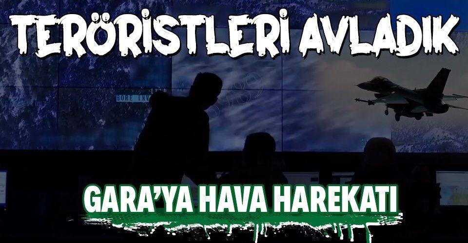 Son dakika... MSB duyurdu: Gara'ya hava harekatı! 8 PKK'lı terörist etkisiz hale getirildi
