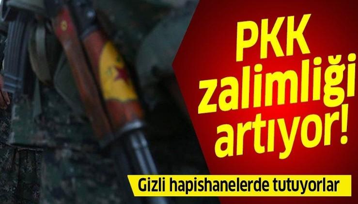 Irak'ta PKK zalimliği: Ezidileri gizli hapishanelerde tutuyorlar