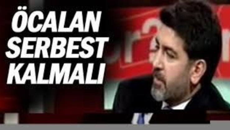 """Halktv programcısı Levent Gültekin: """"Abdullah Öcalan'ın hapiste olması başlı başına bir haksızlık"""""""