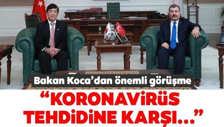 Sağlık Bakanı Fahrettin Koca'dan önemli corona virüs görüşmesi!