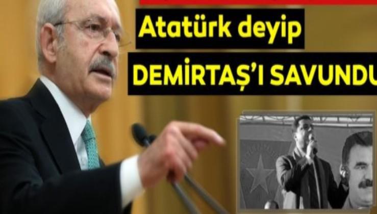 Atatürk bölücüleri yaşatmadı, Kılıçdaroğlu içeriden çıkarmaya çalışıyor, hem de Atatürk'ü kullanarak...