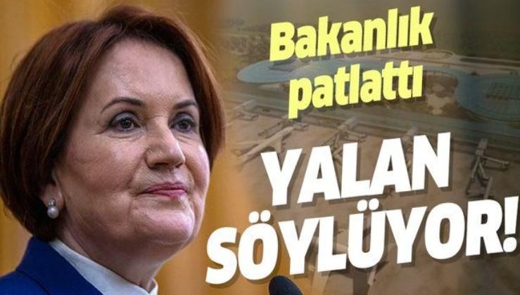 Meral Akşener'in o iddialarını yalanladı!