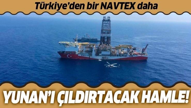 Son dakika: Türkiye'den Yavuz Sondaj Gemisi için yeni NAVTEX!
