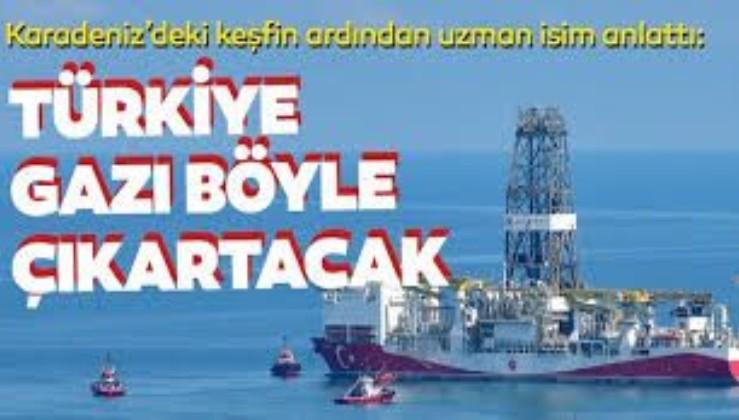 Türkiye, doğal gazı böyle çıkaracak