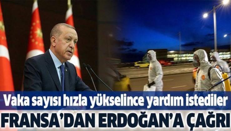Fransa'dan Erdoğan'a yardım çağrısı! Koronavirüs salgını nedeniyle....