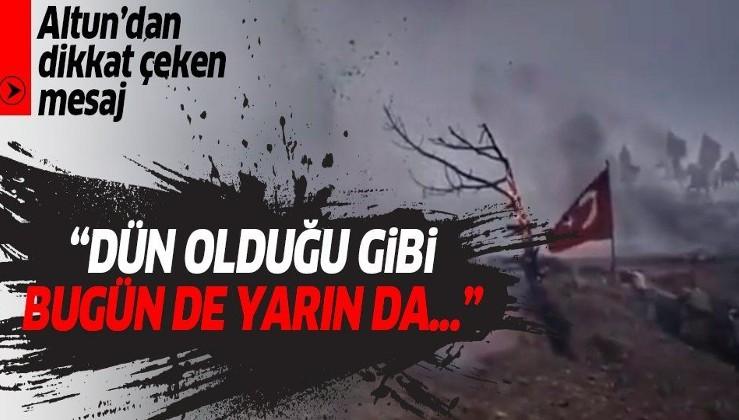 """İletişim Başkanı Fahrettin Altun'dan """"30 Ağustos Zafer Bayramı"""" paylaşımı"""