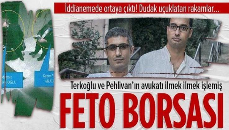Cumhuriyet yazarları Barış Pehlivan ve Barış Terkoğlu'nun avukatı Kazım Yiğit Akalın FETÖ borsasını böyle kurmuş!