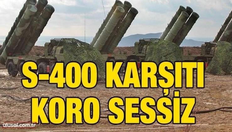 S-400 karşıtı koro sessiz