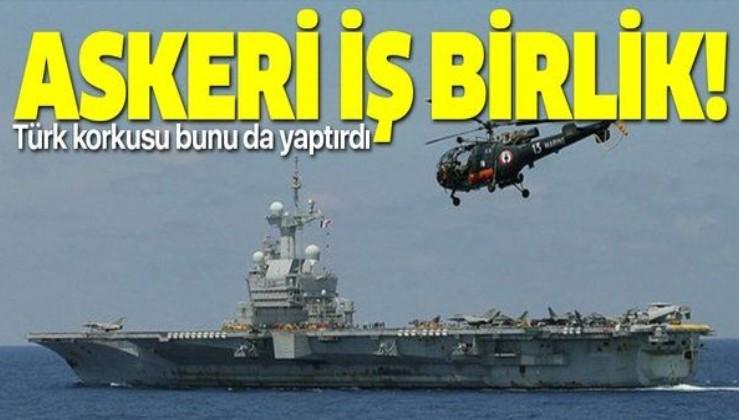 Doğu Akdeniz'deki Türk gücünden korkan Fransızlar Rumlarla askeri iş birliği yapacak!