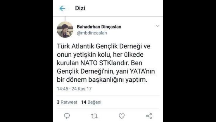 Natodan olma Fetöden doğma