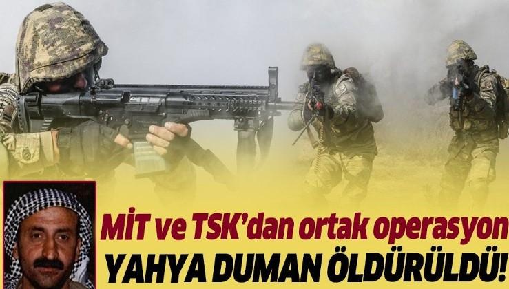 Son dakika: MİT ve TSK'dan ortak operasyon! Kırmızı bültenle aranan terörist Yahya Duman etkisiz hale getirildi.