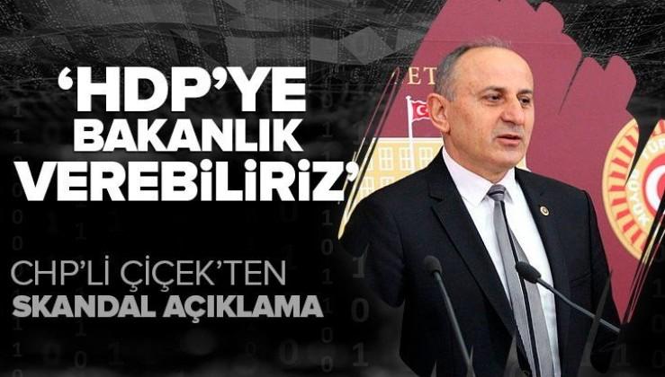 CHP'li Dursun Çiçek itiraf etti! Millet İttifakı iktidar olursa HDP'den 1-2 isim bakan olabilir