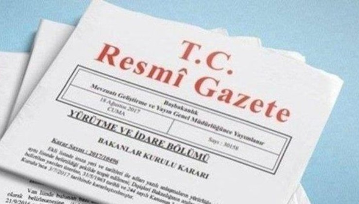 Son dakika: Atama kararları Resmi Gazete'de.