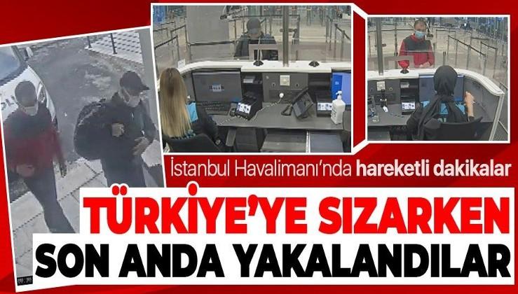 Son dakika: Kazakistan'dan Türkiye'ye giriş yapmak isteyen iki FETÖ'cü İstanbul Havalimanı'nda yakalandı