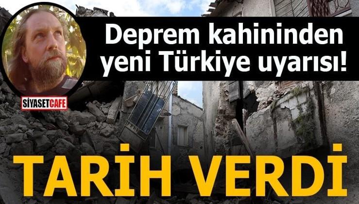 Deprem kahininden yeni Türkiye uyarısı! Tarih verdi