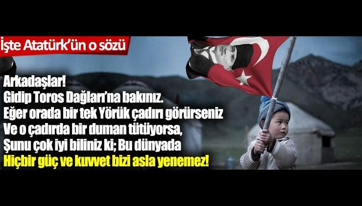 Atatürk: Ülkemizde pek çok yabancı parası ve bir çok propagandalar dönüyor. Vatansız ve aynı zamanda kişisel emel ve çıkarını, yurt ve ulusun zararında arayan alçaklar var