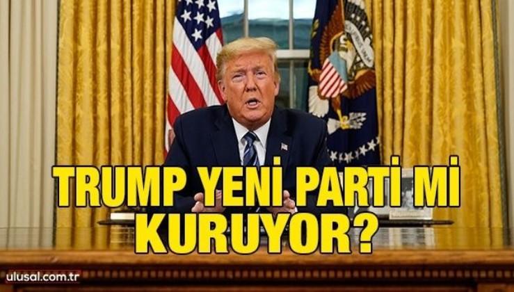 Trump yeni parti mi kuruyor?