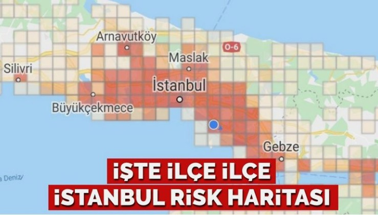 İstanbul için koronavirüs risk haritası yayınlandı… İşte ilçe ilçe son durum