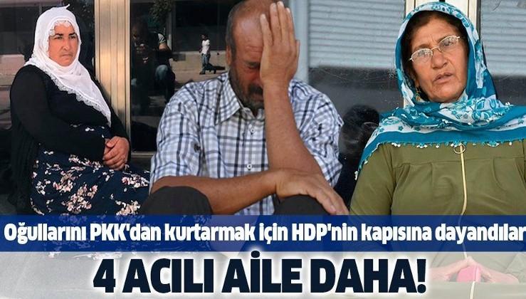 Son dakika: Diyarbakır'da HDP önünde eylem yapan aile sayısı 4'e çıktı.