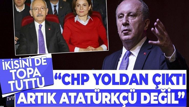 Yeni parti hazırlığındaki Muharrem İnce: CHP yoldan çıktı, artık Atatürkçü bir parti değil
