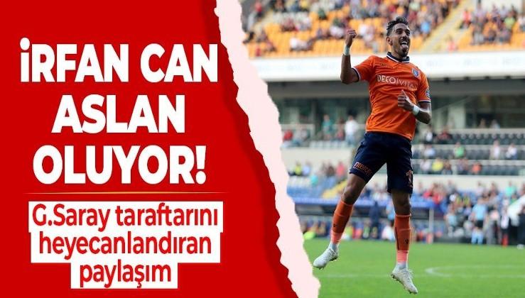 Taylan Antalyalı'dan İrfan Can Kahveci paylaşımı! Galatasaray taraftarı heyecanlandı...