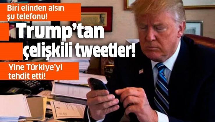 Trump'tan Türkiye'ye yaptırım tehdidi!.