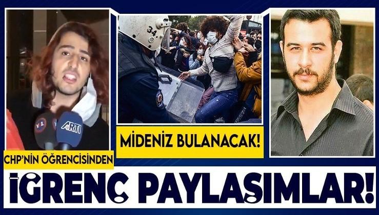 Boğaziçi Üniversitesi'ndeki provokatör Havin Özcan'dan PKK'lılar tarafından katledilen Fırat Çakıroğlu hakkında iğrenç sözler!
